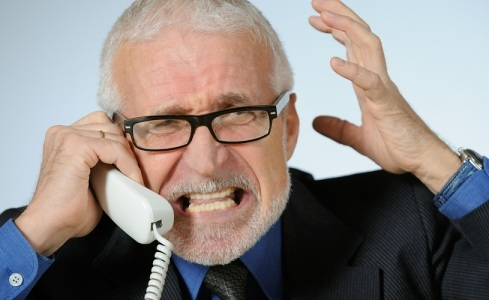 Marah-telepon